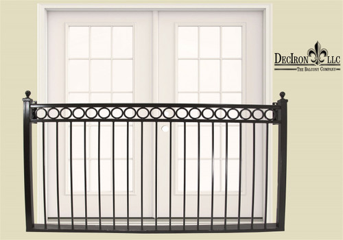 RING BAND BALCONY without platform, faux
