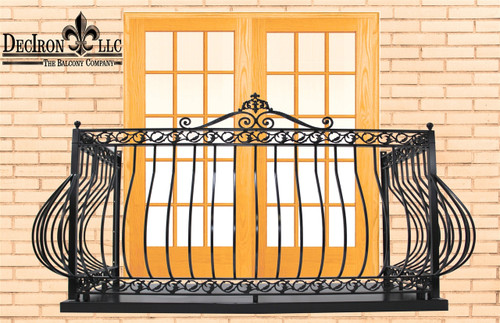 IRON DOVE QUEEN BALCONY with platform
