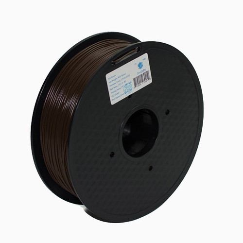 A 1KG spool of SnoLabs Brown PLA (1.75mm)
