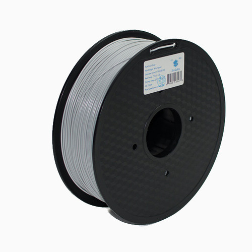 A 1KG spool of SnoLabs Cool Grey PLA (1.75mm)