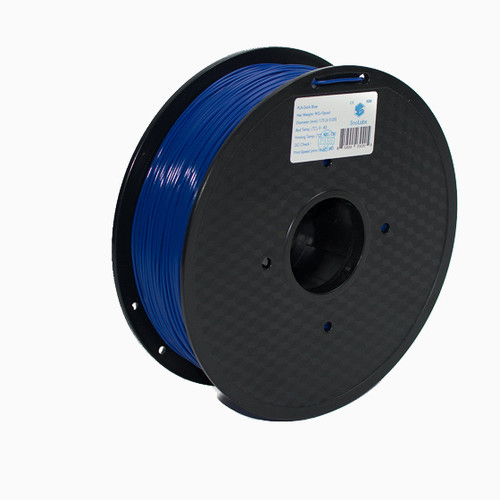 A 1KG spool of SnoLabs Dark Blue PLA (1.75mm)