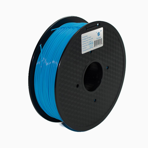 A 1KG spool of SnoLabs Light Blue PLA (1.75mm)