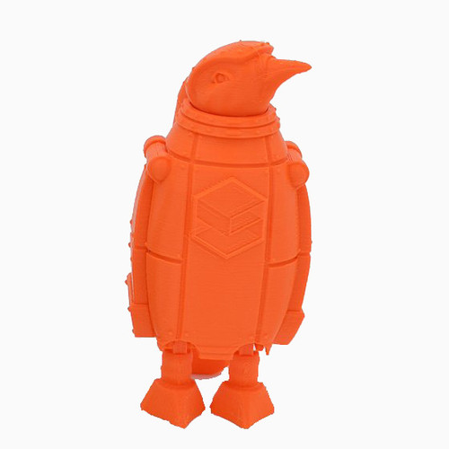 Orange SnoLabs Penguin with Adaptive Layers!