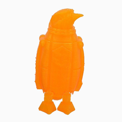 Transparent Orange SnoLabs Penguin with Adaptive Layers!