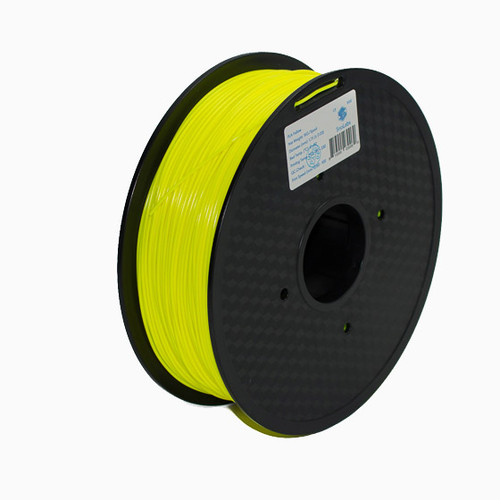 A 1KG spool of SnoLabs Yellow PLA (1.75mm)