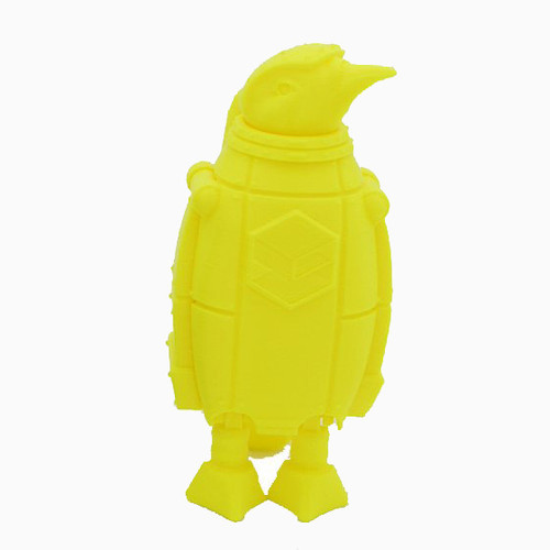 Yellow SnoLabs Penguin with Adaptive Layers!