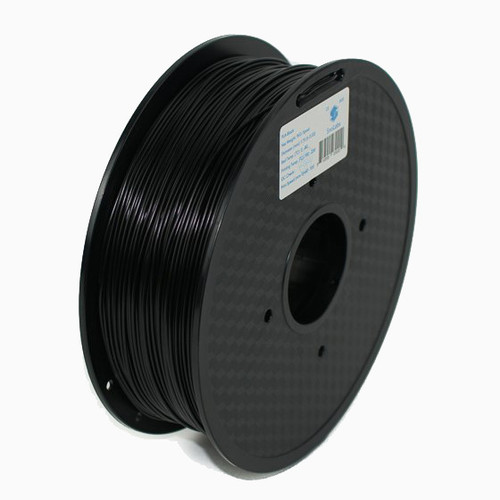 A 1KG spool of SnoLabs Black PLA (1.75mm)