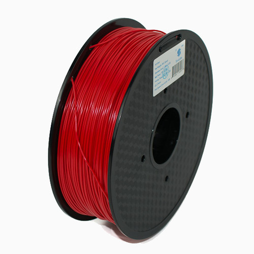 A 1KG spool of SnoLabs Red PLA (1.75mm)
