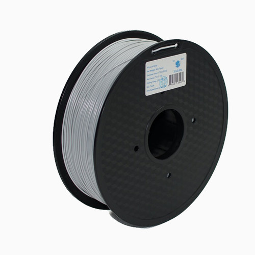 A 1KG spool of SnoLabs Cool Grey ABS (1.75mm)