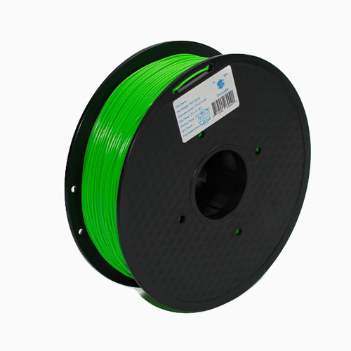 A 1KG spool of SnoLabs Green ABS (1.75mm)