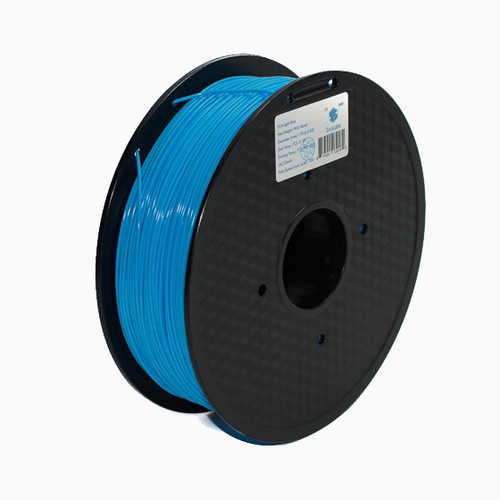 A 1KG spool of SnoLabs Light Blue ABS (1.75mm)