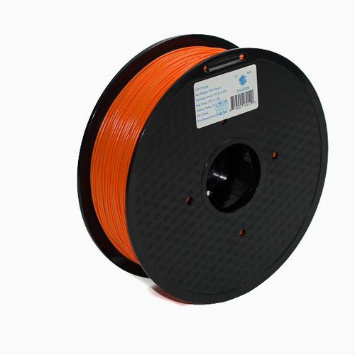 A 1KG spool of SnoLabs Orange PETG (1.75mm)