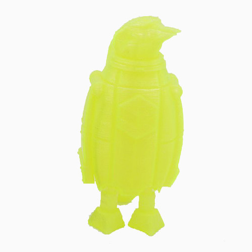Transparent Yellow SnoLabs Penguin with Adaptive Layers!