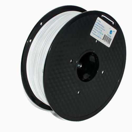 A 1KG spool of SnoLabs White PETG (1.75mm)