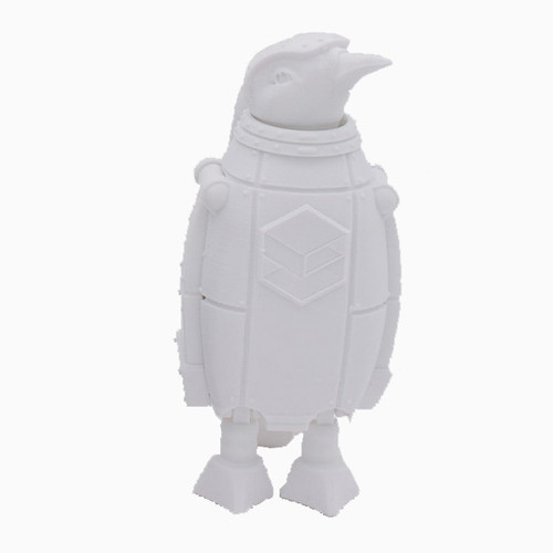White SnoLabs Penguin with Adaptive Layers!