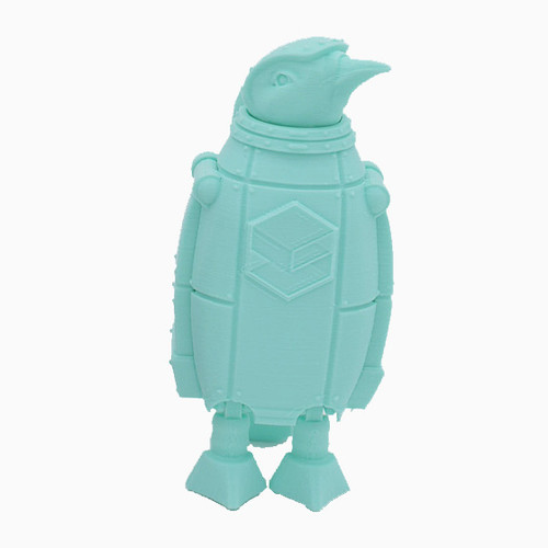 Mint Green SnoLabs Penguin with Adaptive Layers!