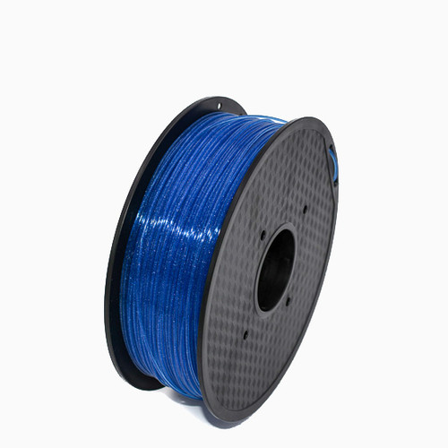 A 1KG spool of SnoLabs Galaxy Blue PLA+ (1.75mm)