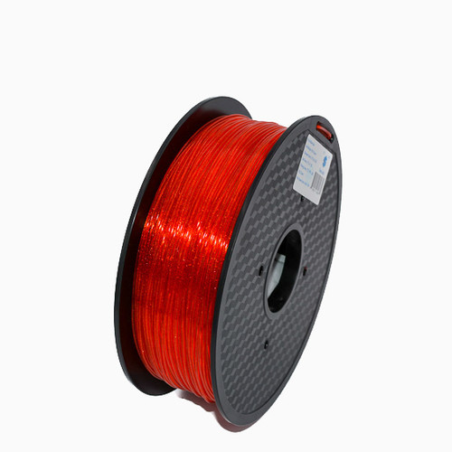 A 1KG spool of SnoLabs Galaxy Red PLA+ (1.75mm)