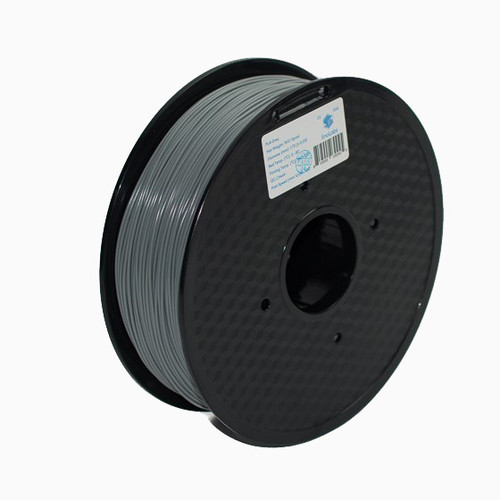 Gray roll of filament.