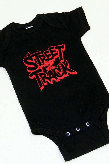 Street2Track Black / Red Onesies