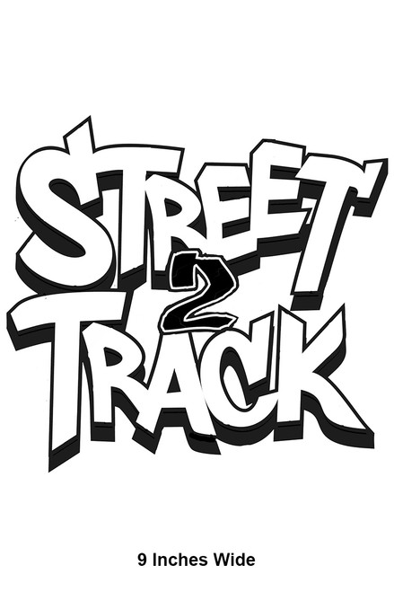 Street2Track Sticker 001