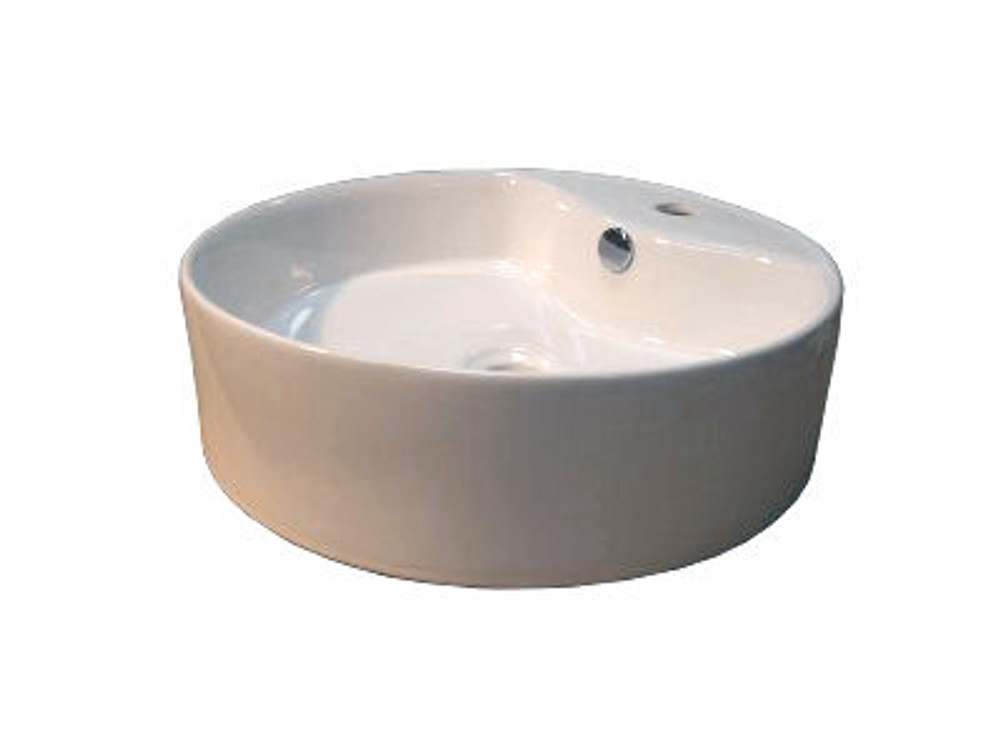 Round Bowl Basin with Tap Hole 222A