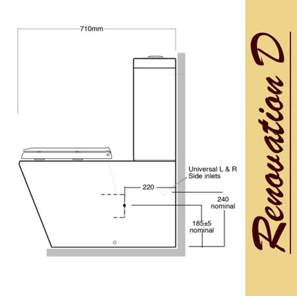 CALAIS Wall Faced Toilet Suite