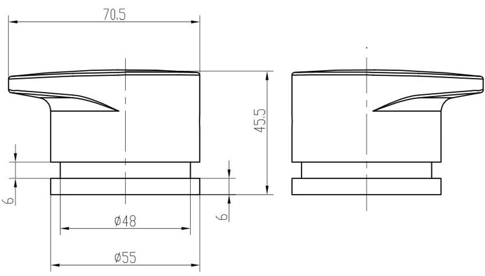 Linol Platinum Bath Tap Set