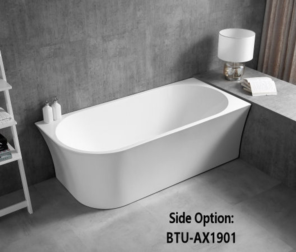 normandy regen corner free standing bathtub 1500 1700. Black Bedroom Furniture Sets. Home Design Ideas