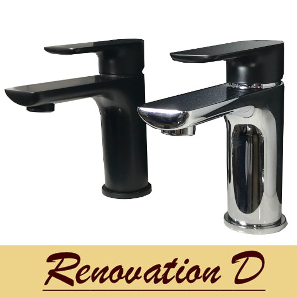 Normandy ETHAN Basin Mixer Tap - Colorful Range Rose Gold Antique Brass