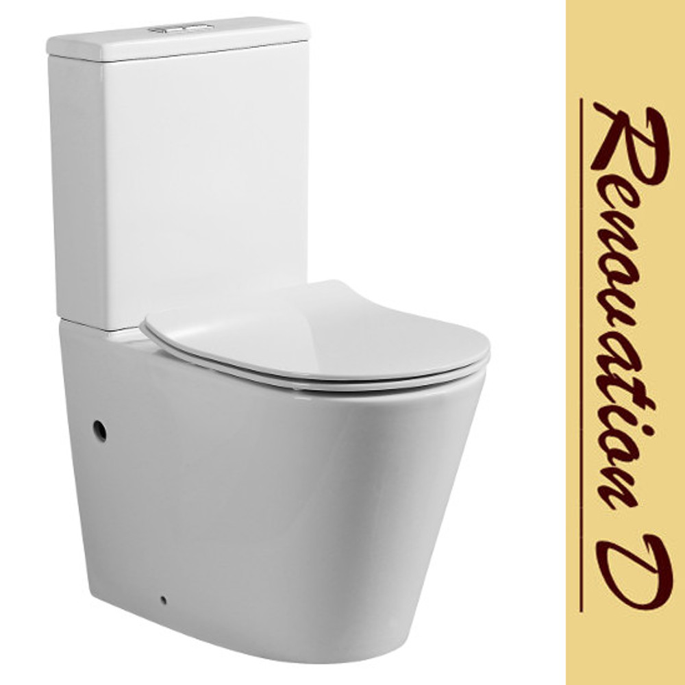 Le Blanc Rim less Wall Faced Toilet - S or P trap