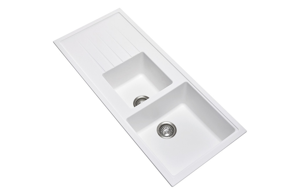 CARYSIL VIVALDI D200 1/3 BOWL WITH DRAINER GRANITE KITCHEN SINK 1160MM X 500 MM X 205MM