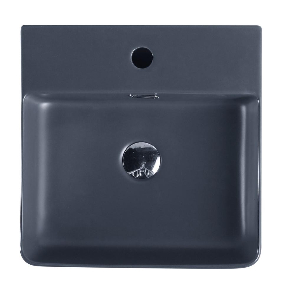 2177 Art Basin - Green Brown Black White Grey