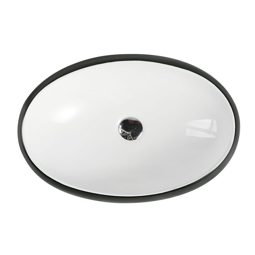 CH33 Art Basin - White Matt Black