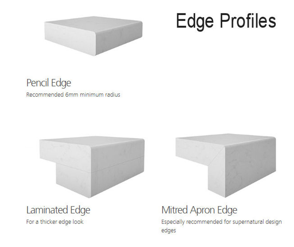 Caesarstone Bench Top Slab 3000 x 1400 - Pure White 1141