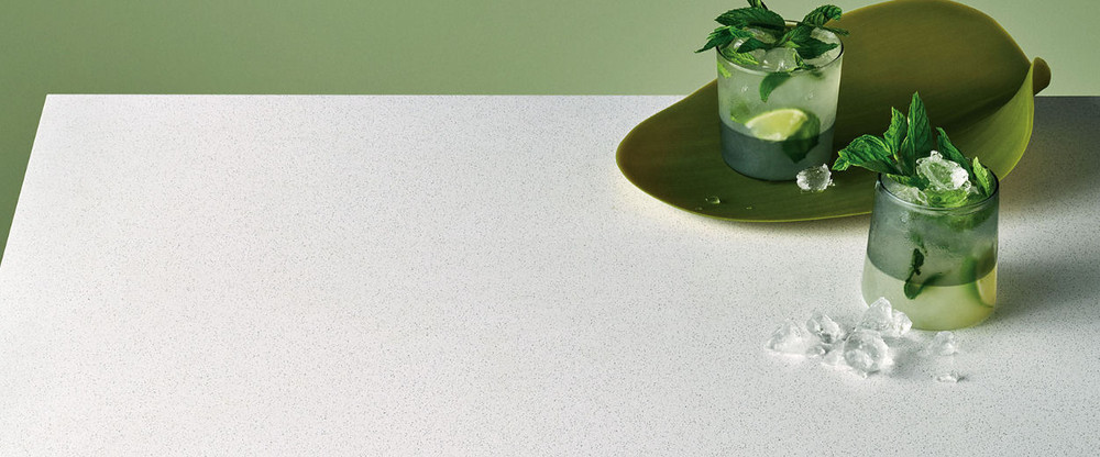 Caesarstone Bench Top Slab 3000 x 1400 - Intense White 6011