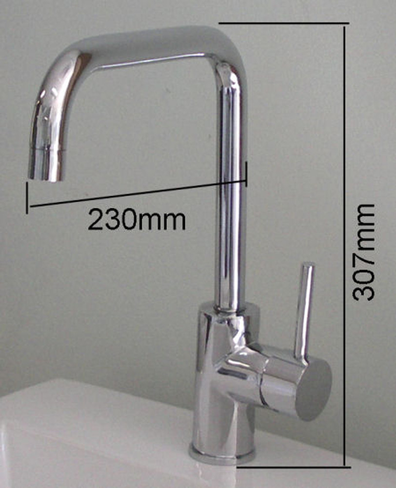 Lollypop Arch Basin, Kitchen & Laundry Sink Mixer Tap