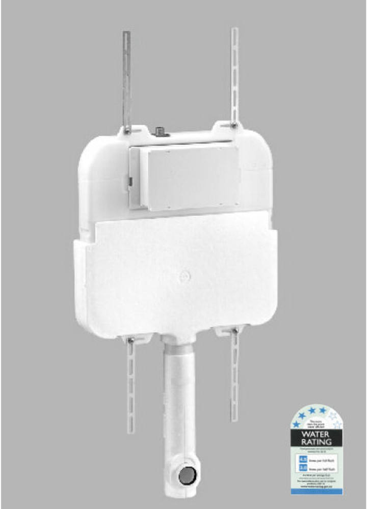KEMP 3 Wall Faced Pan with In Wall Cistern