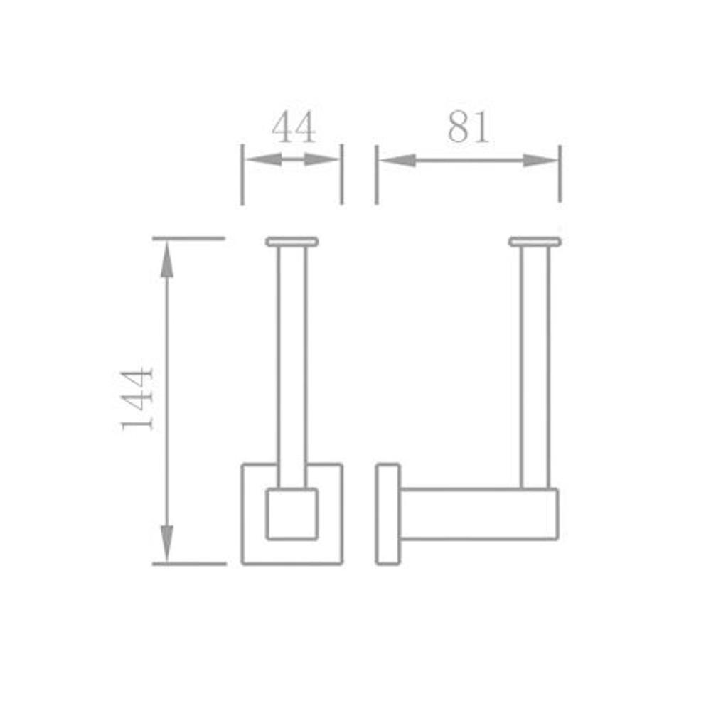 Normandy Toilet Paper Holder - Horizontal