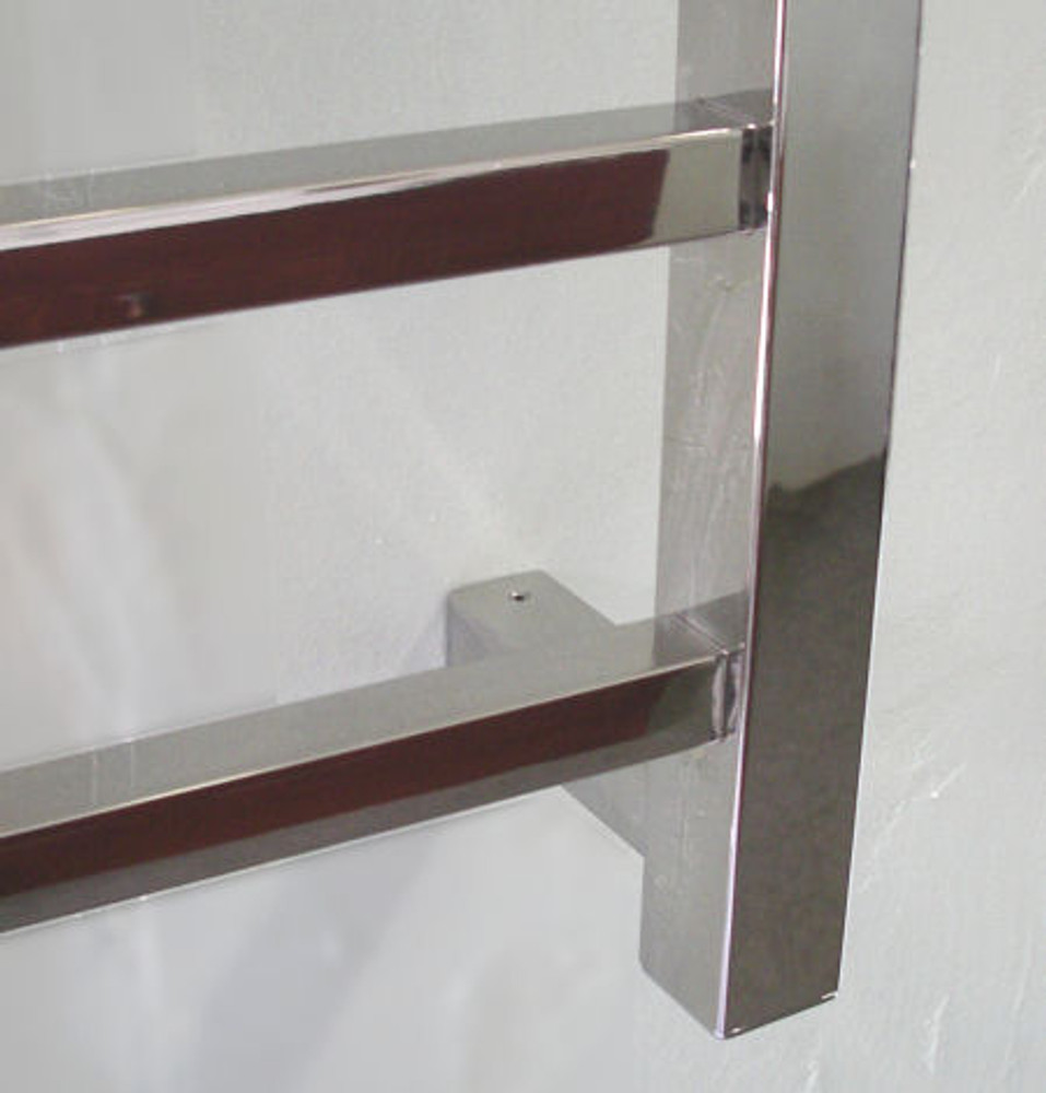 Stainless Steel Heated Towel Rail - Square