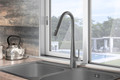 Linsol Aria Pull Out Kitchen Mixer Grey Wolf