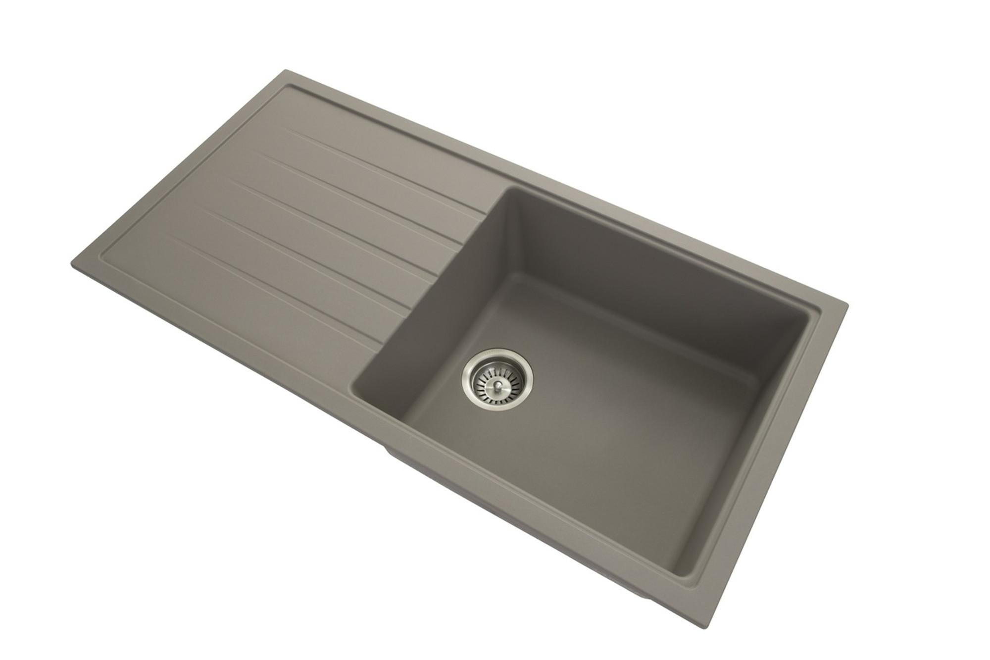 Zum Granite Kitchen Sink Drop In Or Under Mount Single