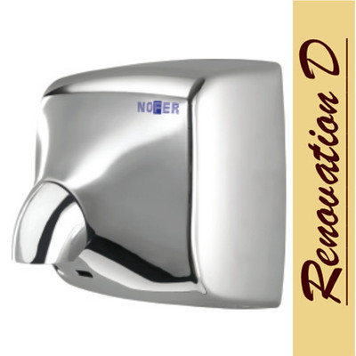 NOFER WINDFLOW AUTOMATIC SENSOR HAND DRYER STAINLESS STEEL