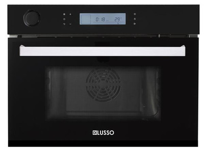 Dilusso COMBI STEAM OVEN - BLACK GLASS