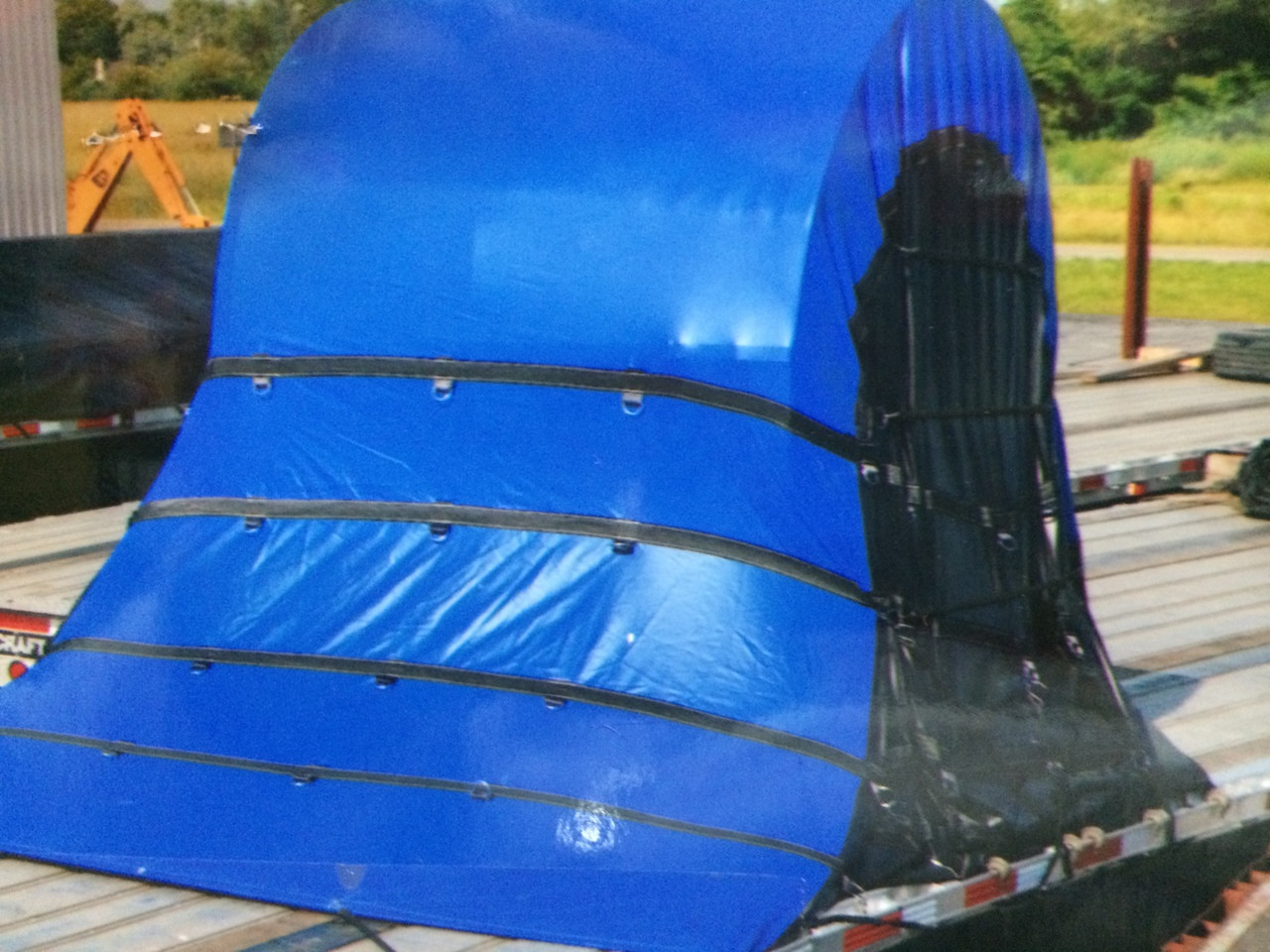 Deluxe Coil Bags 6x7x6 Heavy Duty Coil Tarps For Flatbeds