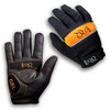 Our gloves are bombproof, yet offer tons of grip and actual feel on the bars. Snot wipes on each thumb. Yummy.