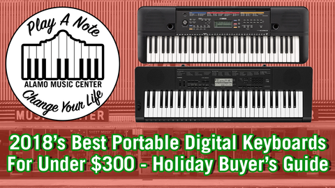 2018's Best Portable Keyboard for the Holidays!
