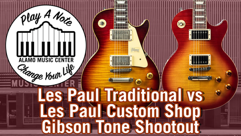 2019 Les Paul Traditional vs Les Paul Custom Shop