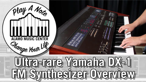 What Is The Yamaha DX-1 FM Syntheszier?