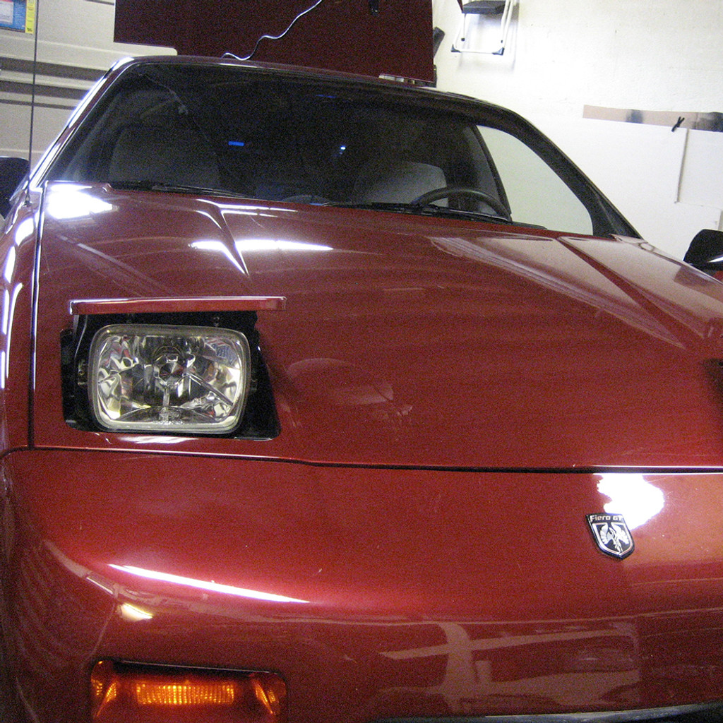 84-88 Pontiac Fiero HID Conversion Kit with New Housings